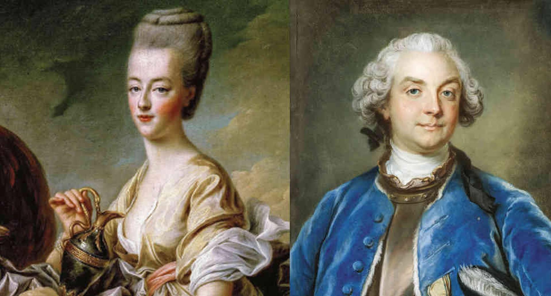 El conde Axel de Fersen le hizo llegar las cartas a María Antonieta cuando ella estaba encarcelada en el palacio de las Tullerías, en París. Usaban tinta invisible y un código.