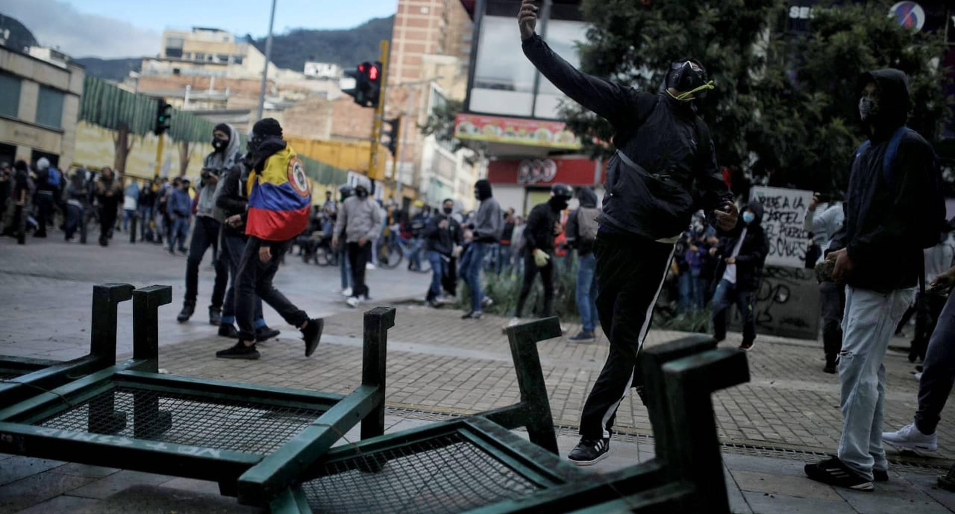 Paro 21 de septiembre plaza de bolivar