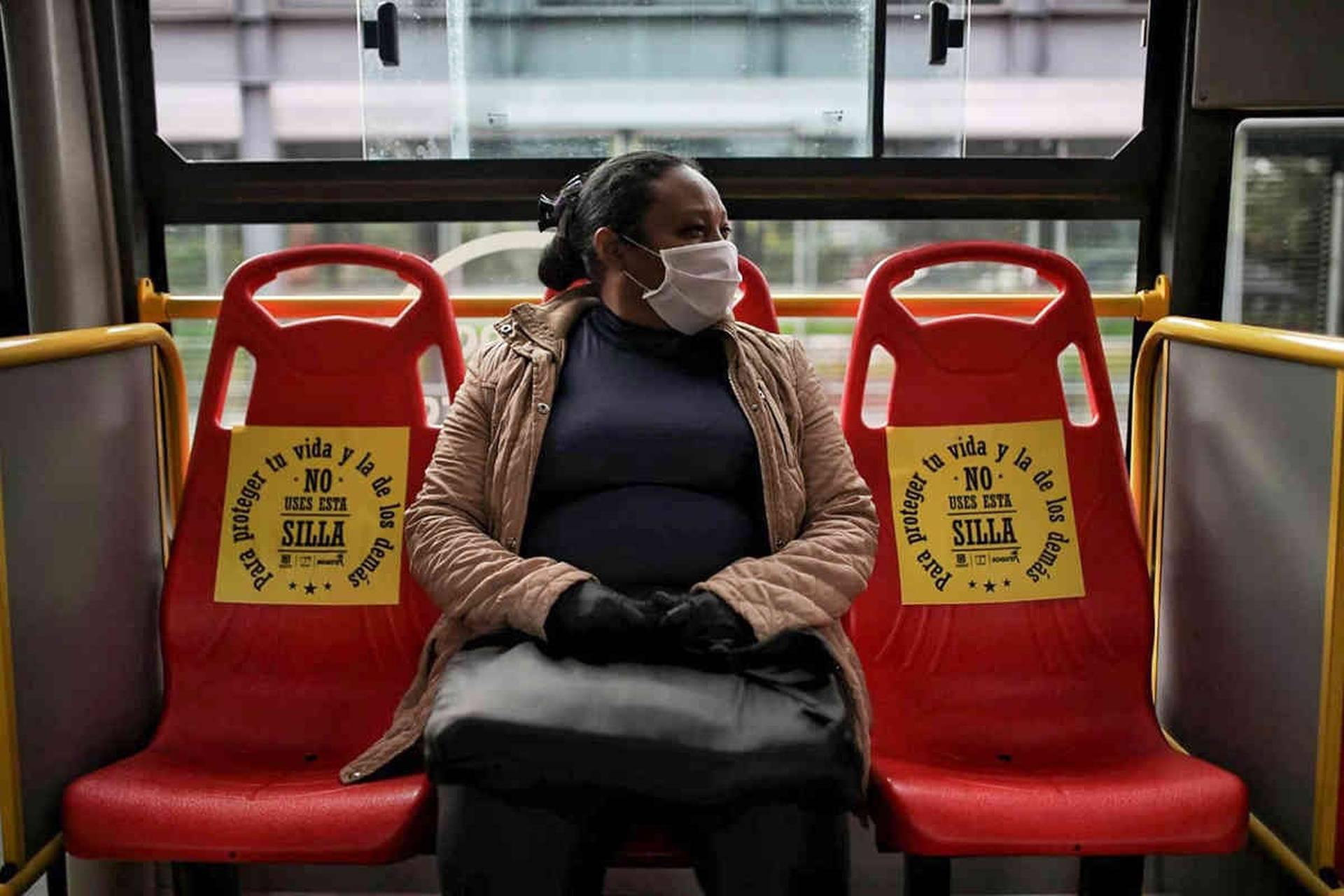 ¿Cuáles son las probabilidades de contagio en un bus?