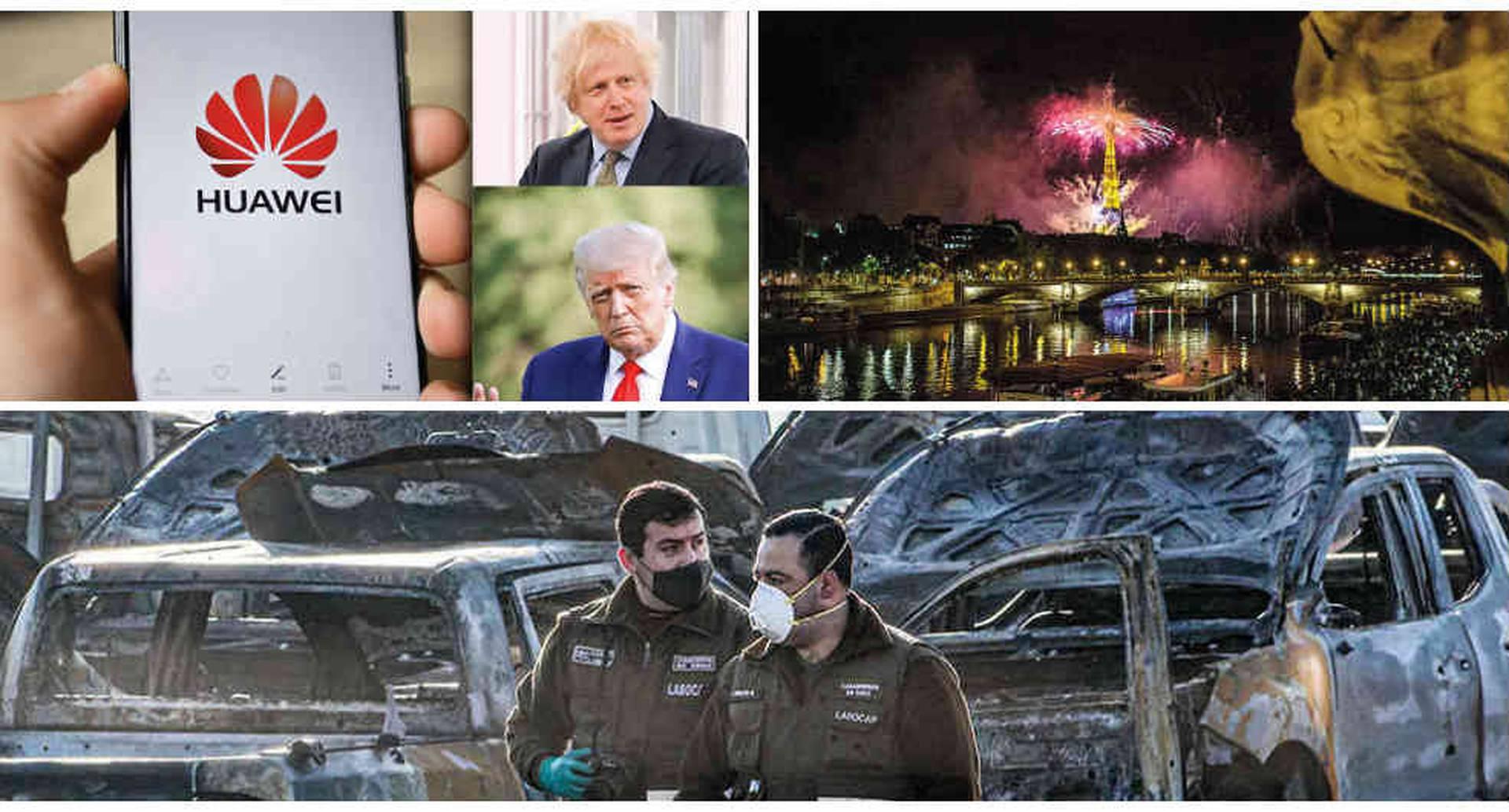 Siete noticias internacionales importantes de esta semana. Foto: Collage.
