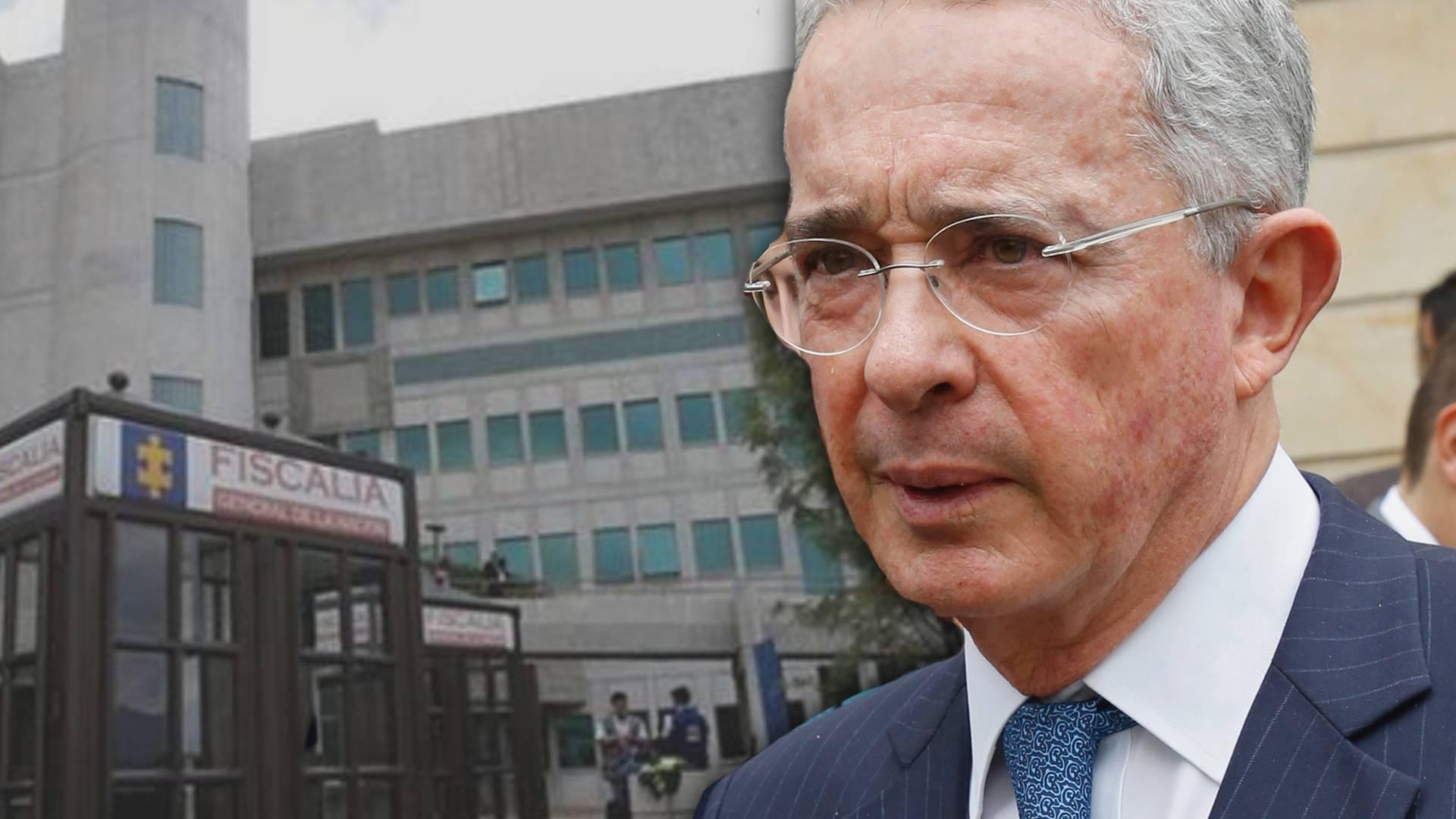 Alvaro Uribe + Fiscalia