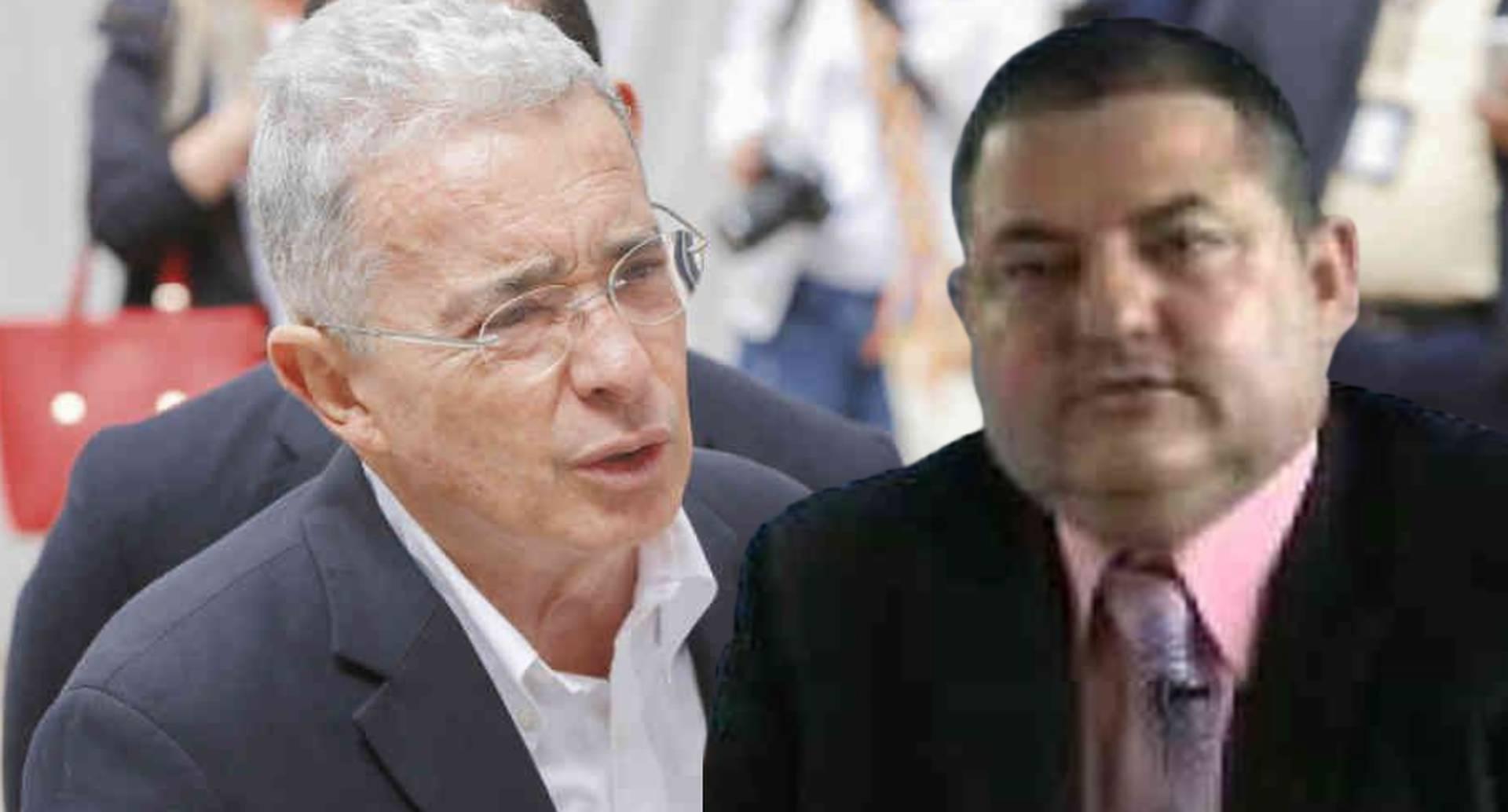 Álvaro Uribe / Exparamilitar Pablo Hernán Sierra