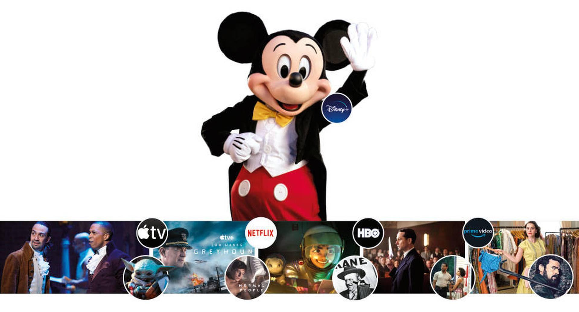 Mickey Mouse anunció la llegada de su plataforma de streaming a Latinoamérica el 17 de noviembre.