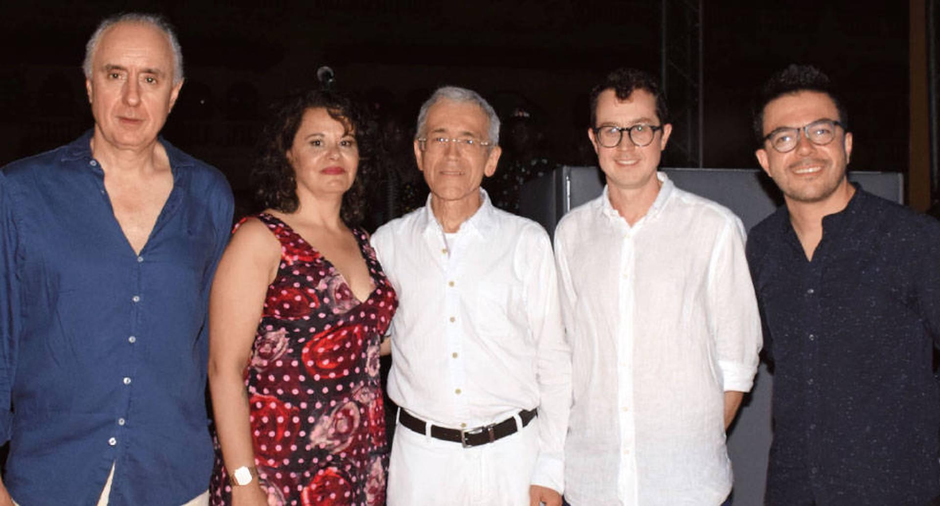 Pablo Gómez de Olea, María Camila Moreno, Francisco de Roux, Adam Forbes y Camilo Jiménez Santofimio.