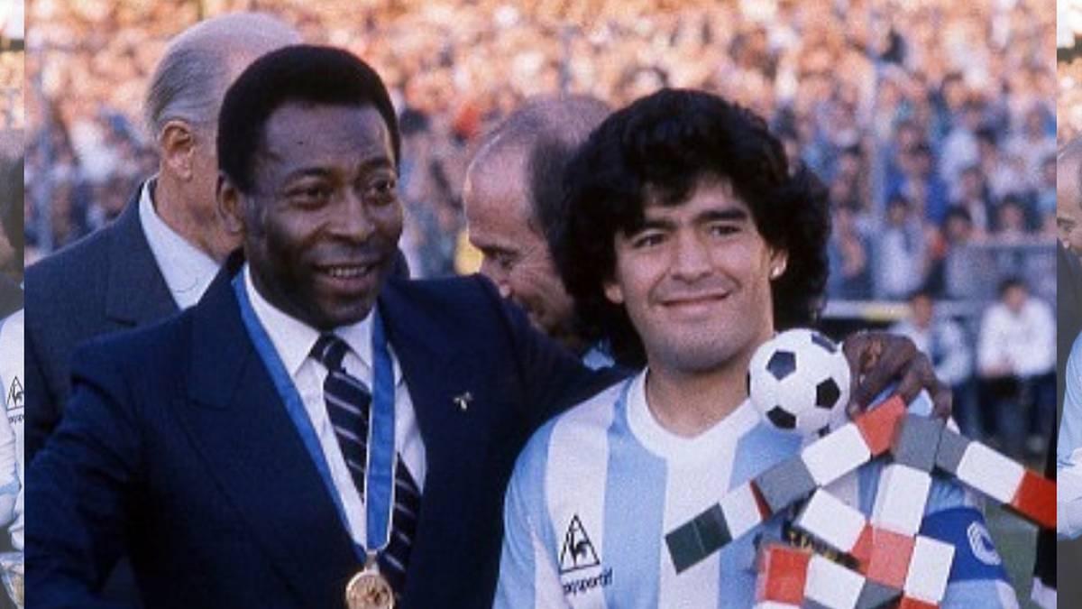 La historia detrás del 'fichaje' de Pelé a Maradona