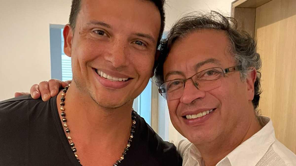 Cayito Dangond y Gustavo Petro