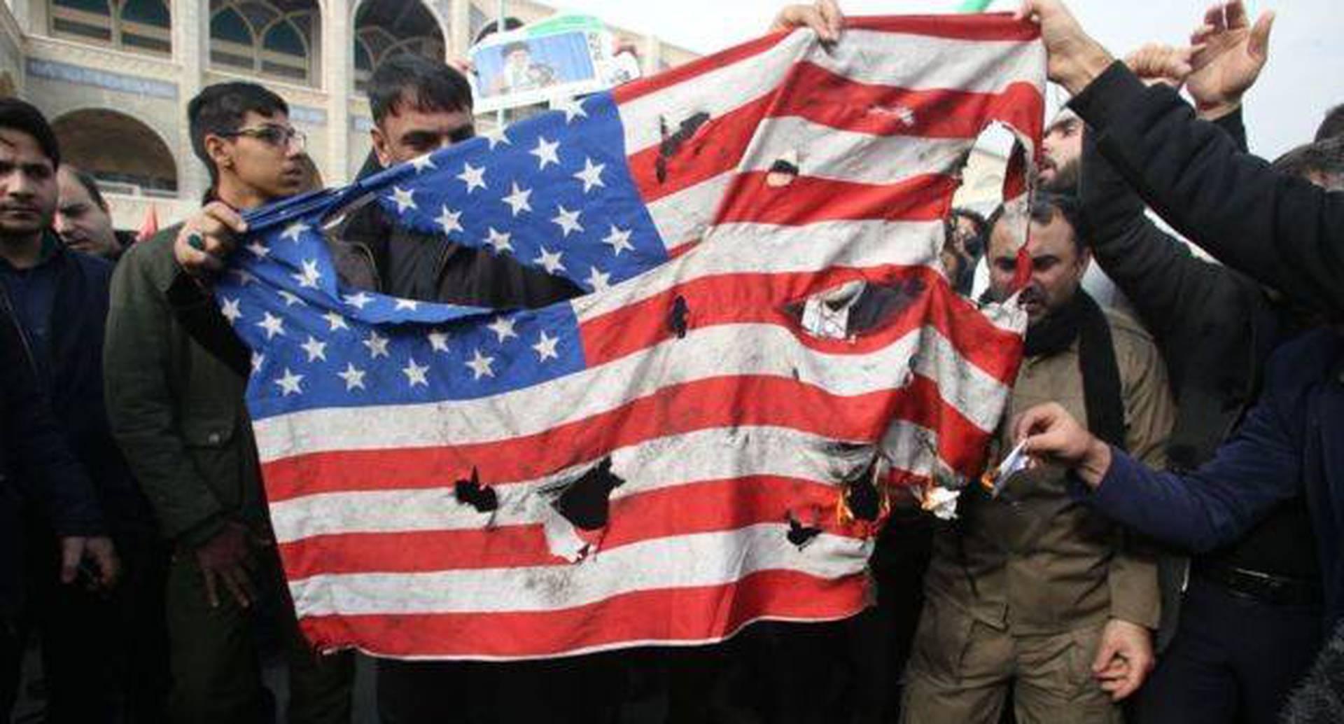 El odio hacia Estados Unidos en Irán se agudizó luego del ataque a Soleimani en Irak.