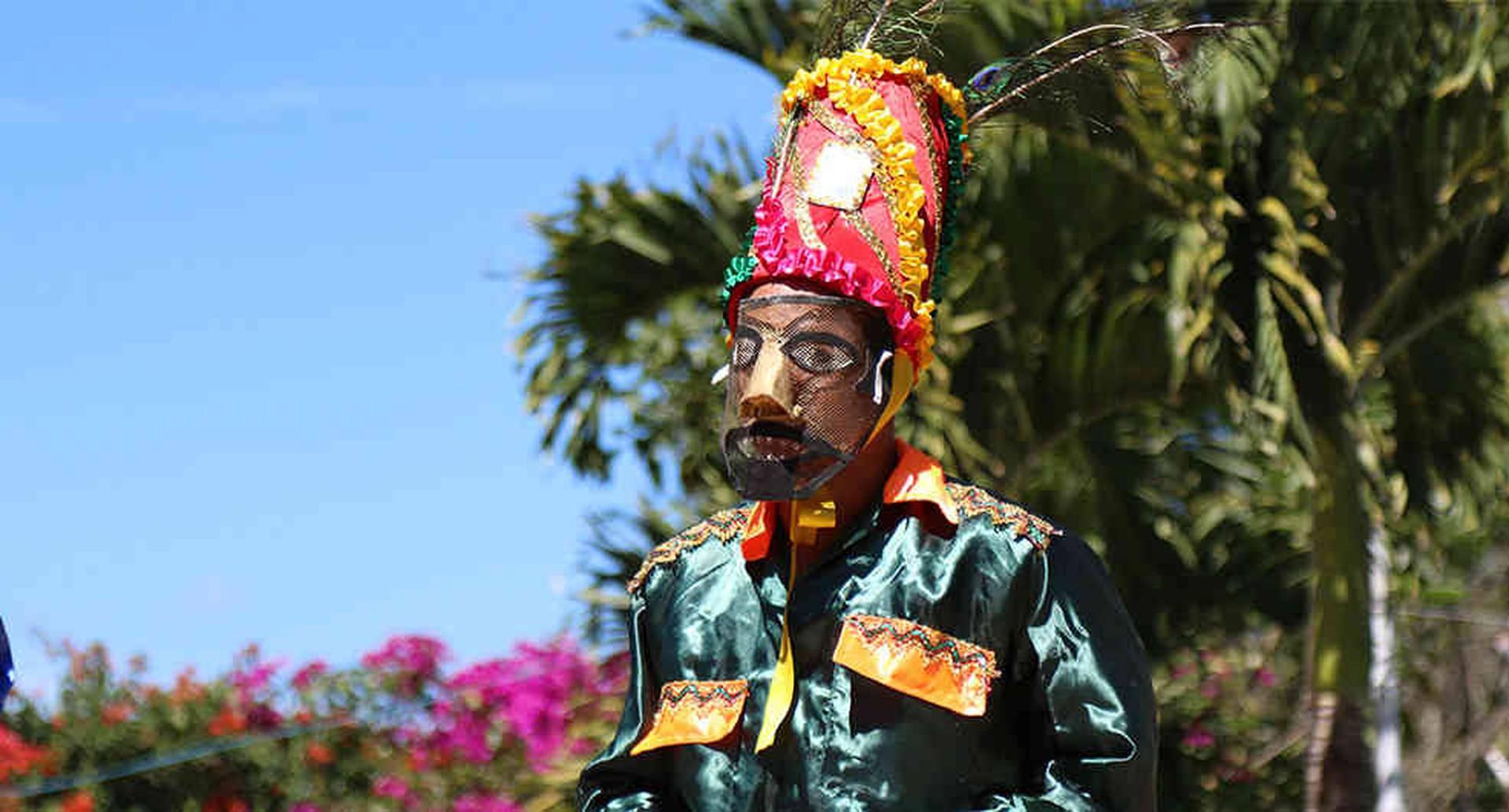El sainete es una tradición que sigue viva. Se trata de historias que los esclavos usaban para burlarse de sus amos. Foto: Juan José Quintero / Alcaldía de Girardota