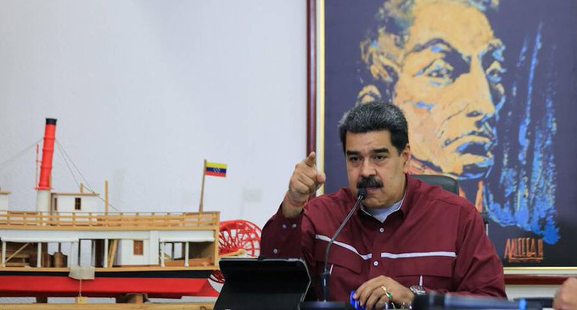 Nicolás Maduro anuncia comando secreto contra EE.UU.