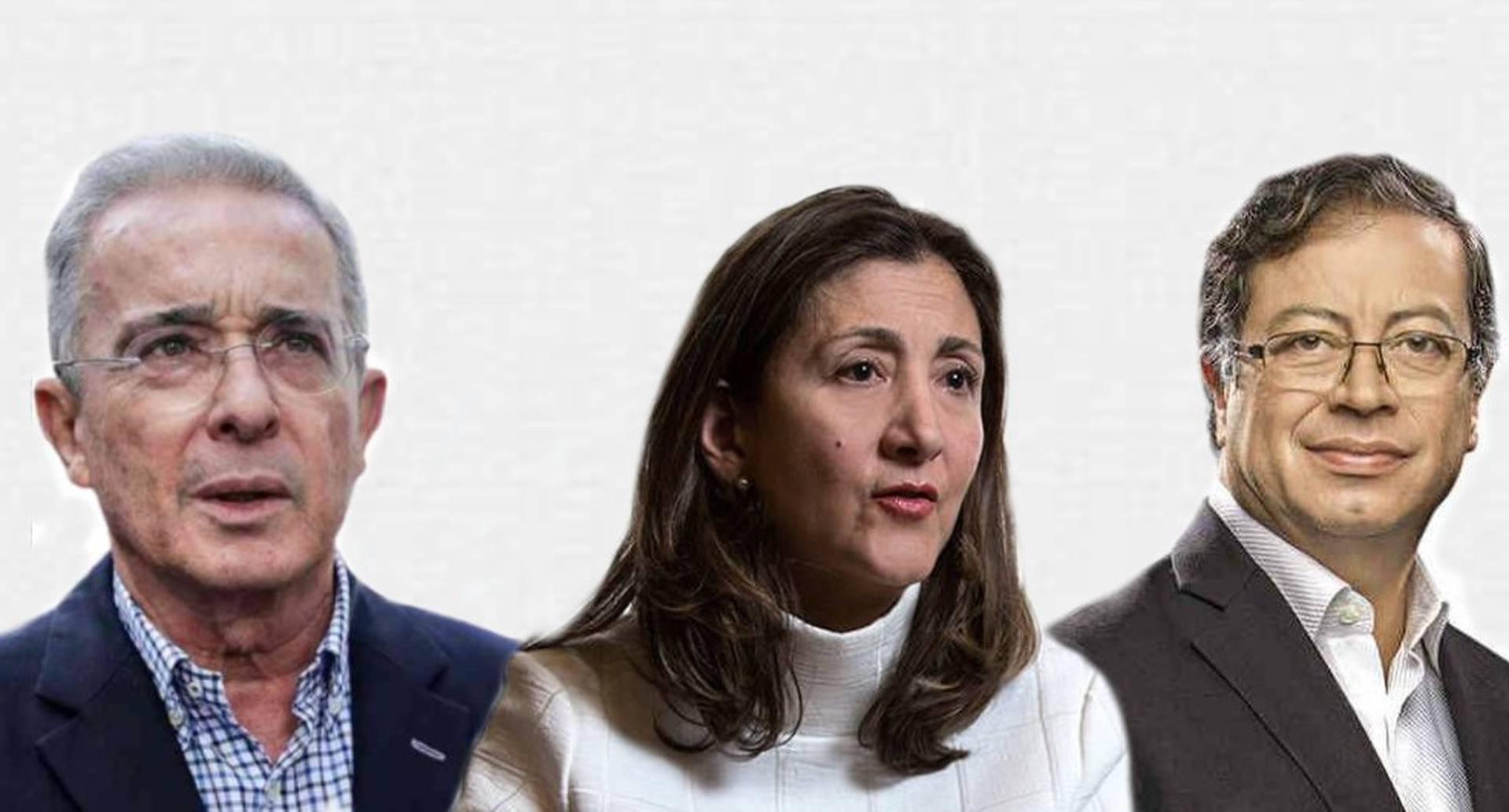 En entrevista con María Jimena Duzán, Íngrid Betancourt recordó la importancia de que Gustavo Petro y Álvaro Uribe moderen sus discursos.