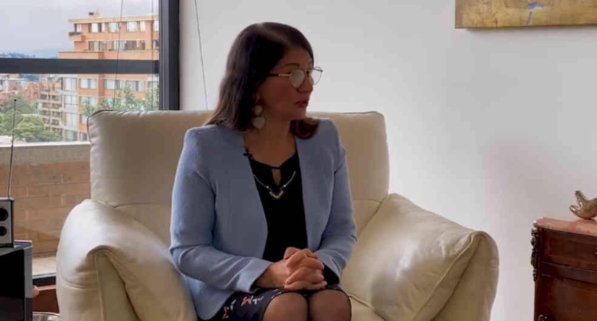 A Santrich nunca le encontraron pruebas de narcotráfico: Sandra Ramírez