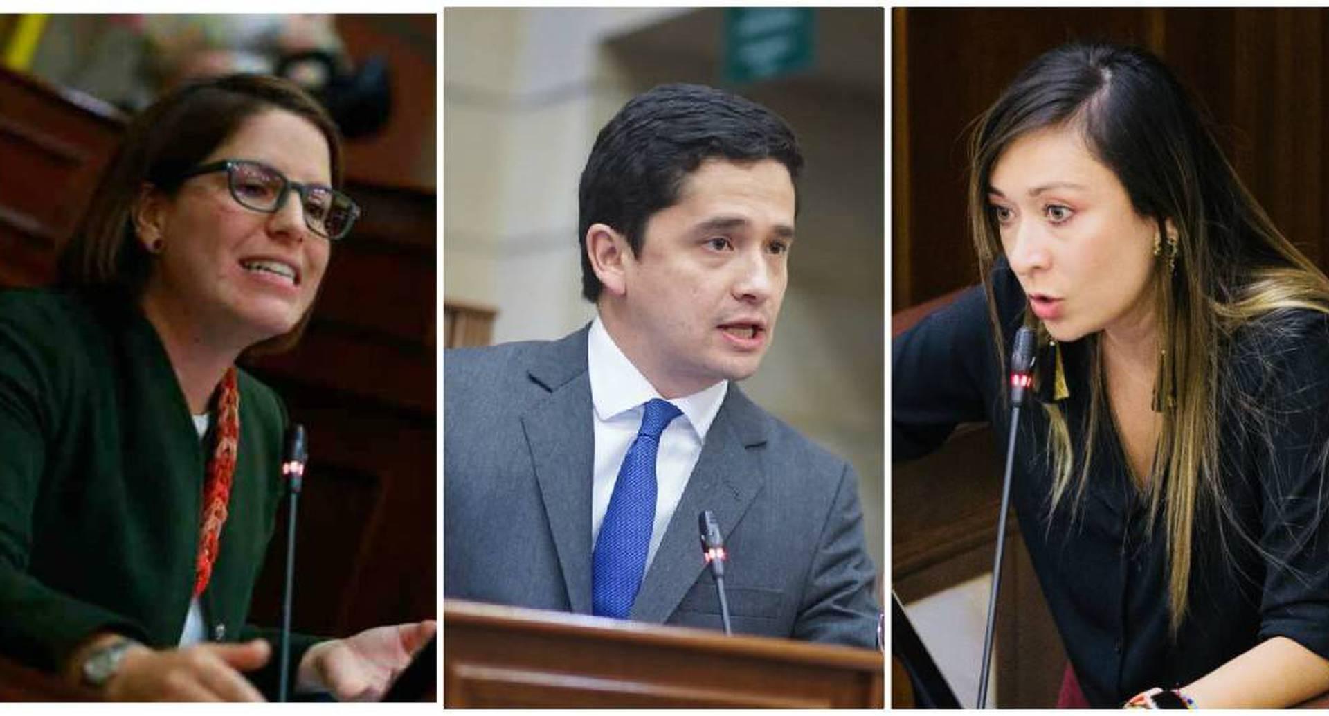 La representante Katherine Miranda hizo un llamado a la oposición para no acompañar el proyecto de ley.