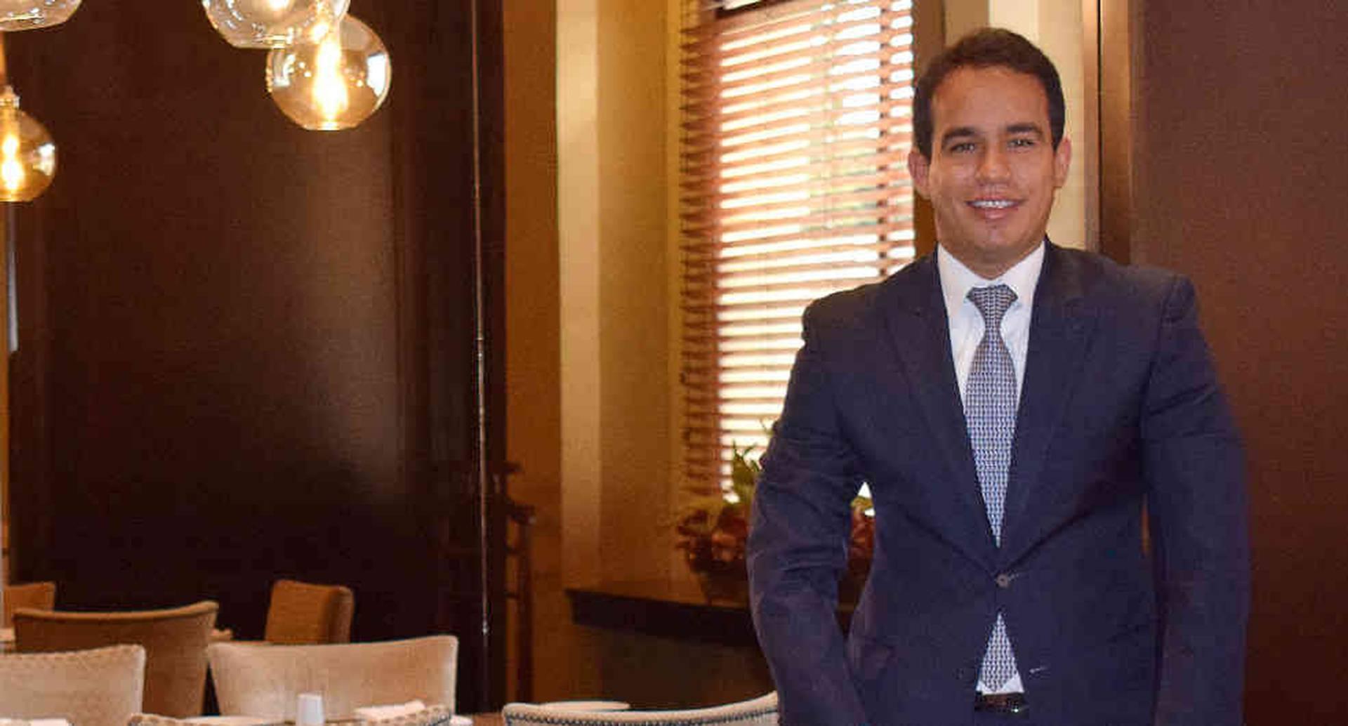 Gerente Jurídico de Hoteles Dann, Julio Cesar Fontalvo