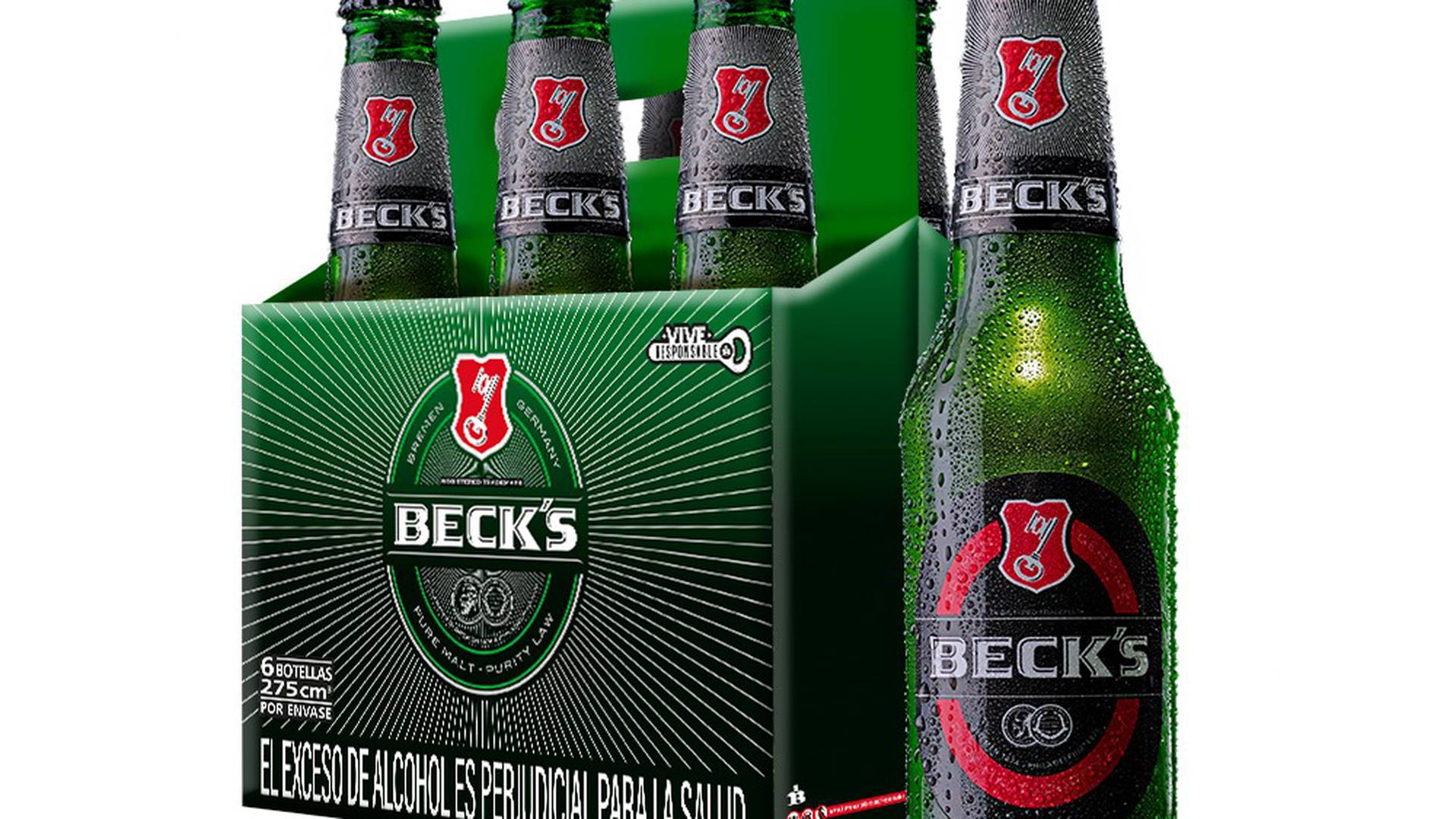 Bavaria relanza la cerveza alemana Beck's con nueva imagan y líquido.