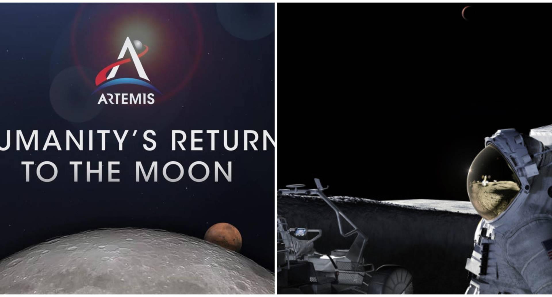 Plan de la Nasa para volver a la Luna