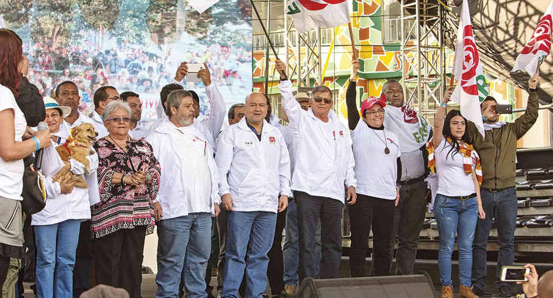 En esta contienda electoral el partido de la rosa roja buscará quitarse el estigma de guerrilleros con el que los colombianos aún lo identifican.