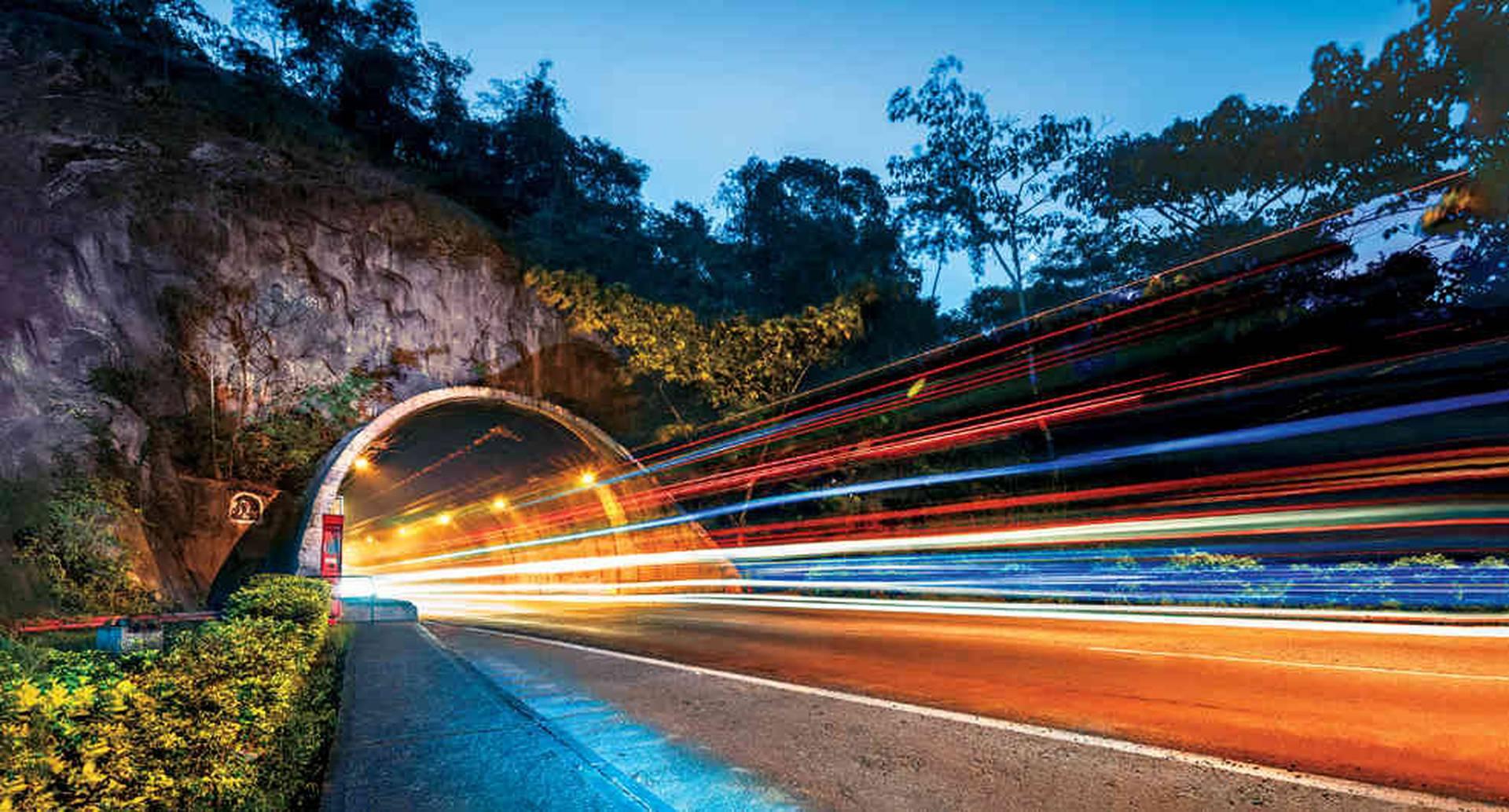Túnel de Sumapaz, ubicado en la doble calzada de la autopista Bogotá-Girardot, moviliza cerca de 8.500 vehículos diarios.