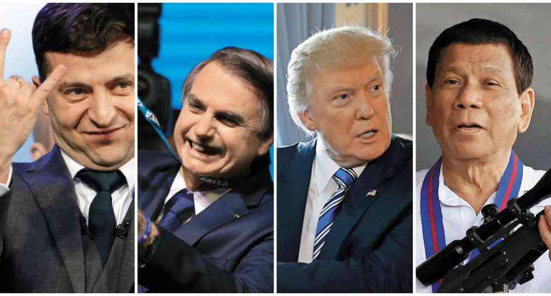 Políticos que vuelven su poder un chiste y ganan adeptos con sus mensajes.