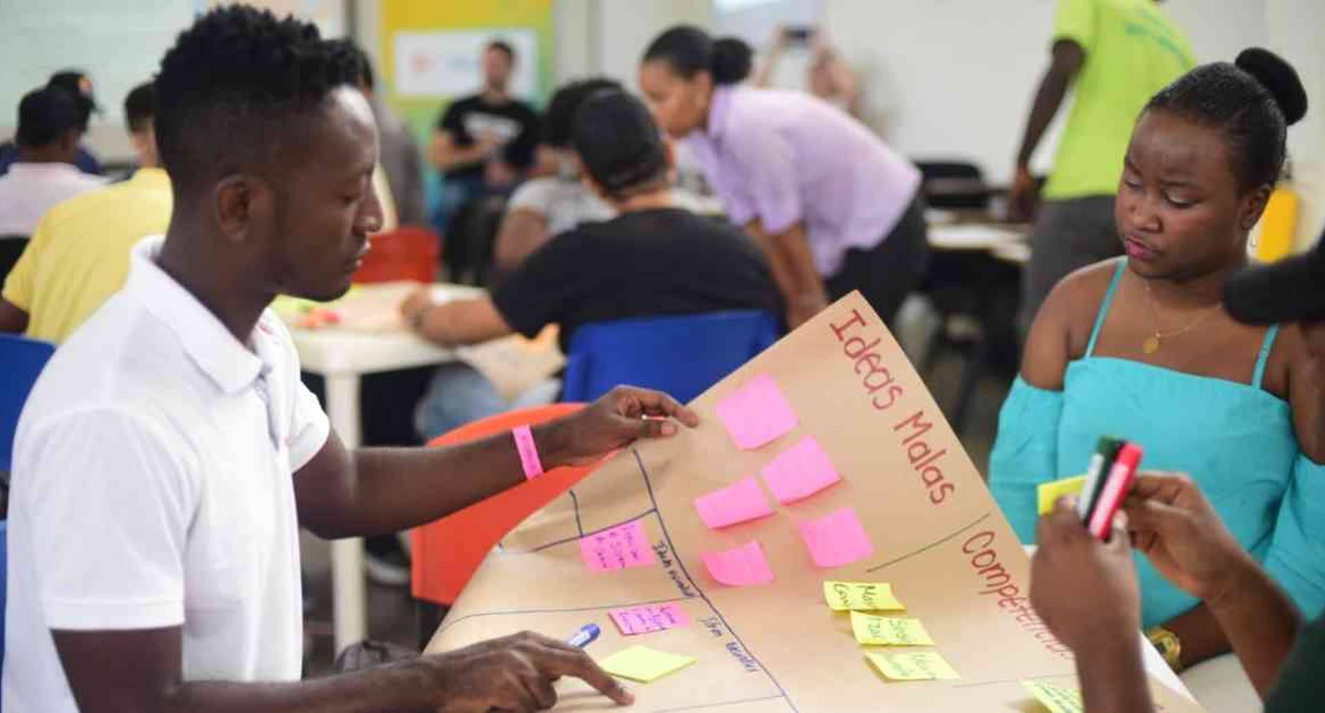 Dos bootcamps se realizaron este año en Detonante. La meta es realizar más sobre habilidades digitales, programación y conocimientos tecnológicos en el primer trimestre de 2020. Foto: Detonante.