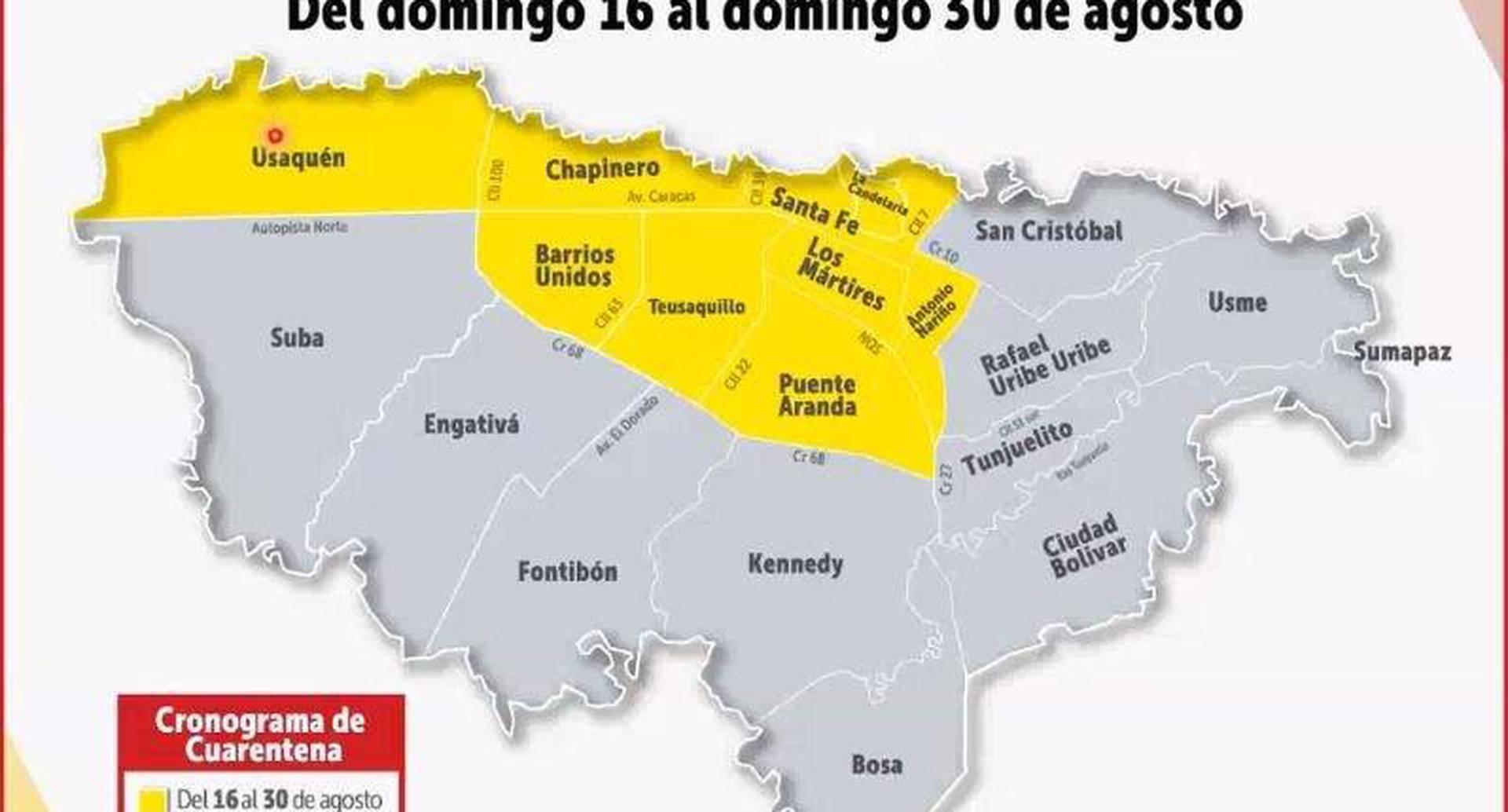 Video: así será la nueva cuarentena en 7 localidades de Bogotá