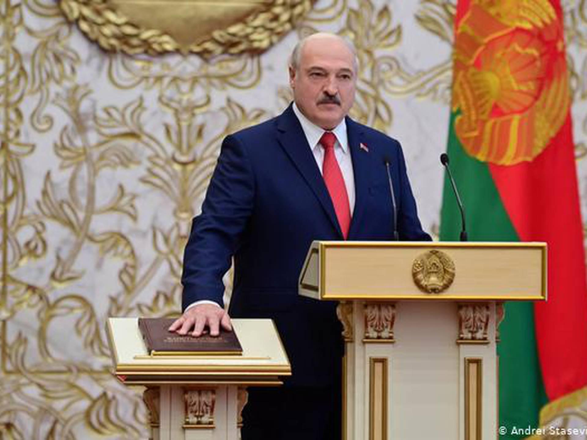Lukashenko DW - NO USAR