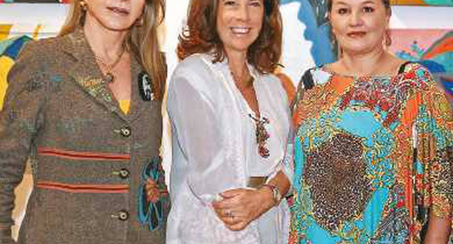 Monika Hartmann, Lola Castello y Camila Sánchez.