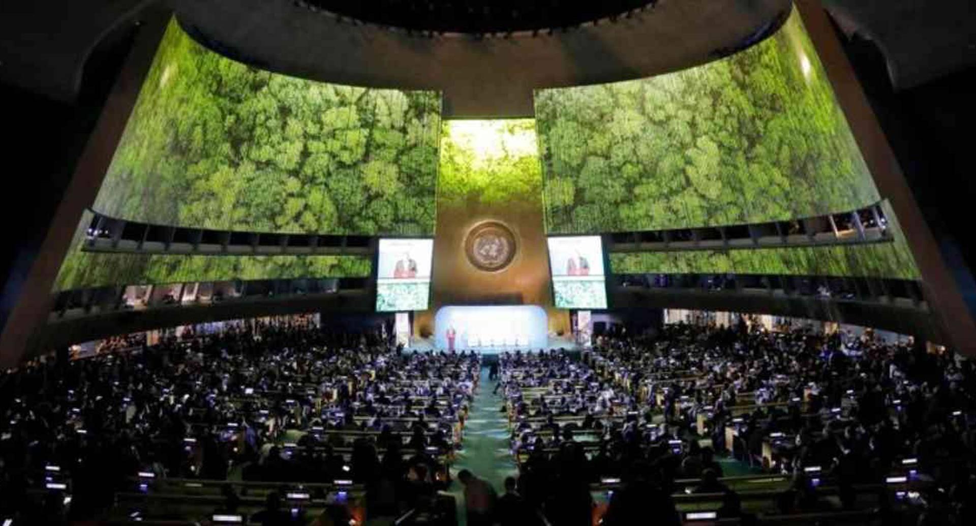 Los anuncios hechos por los mandatarios se llevaron a cabo en la Cumbre de la ONU sobre el clima realizada en Nueva York. Foto: Reuters vía DW.