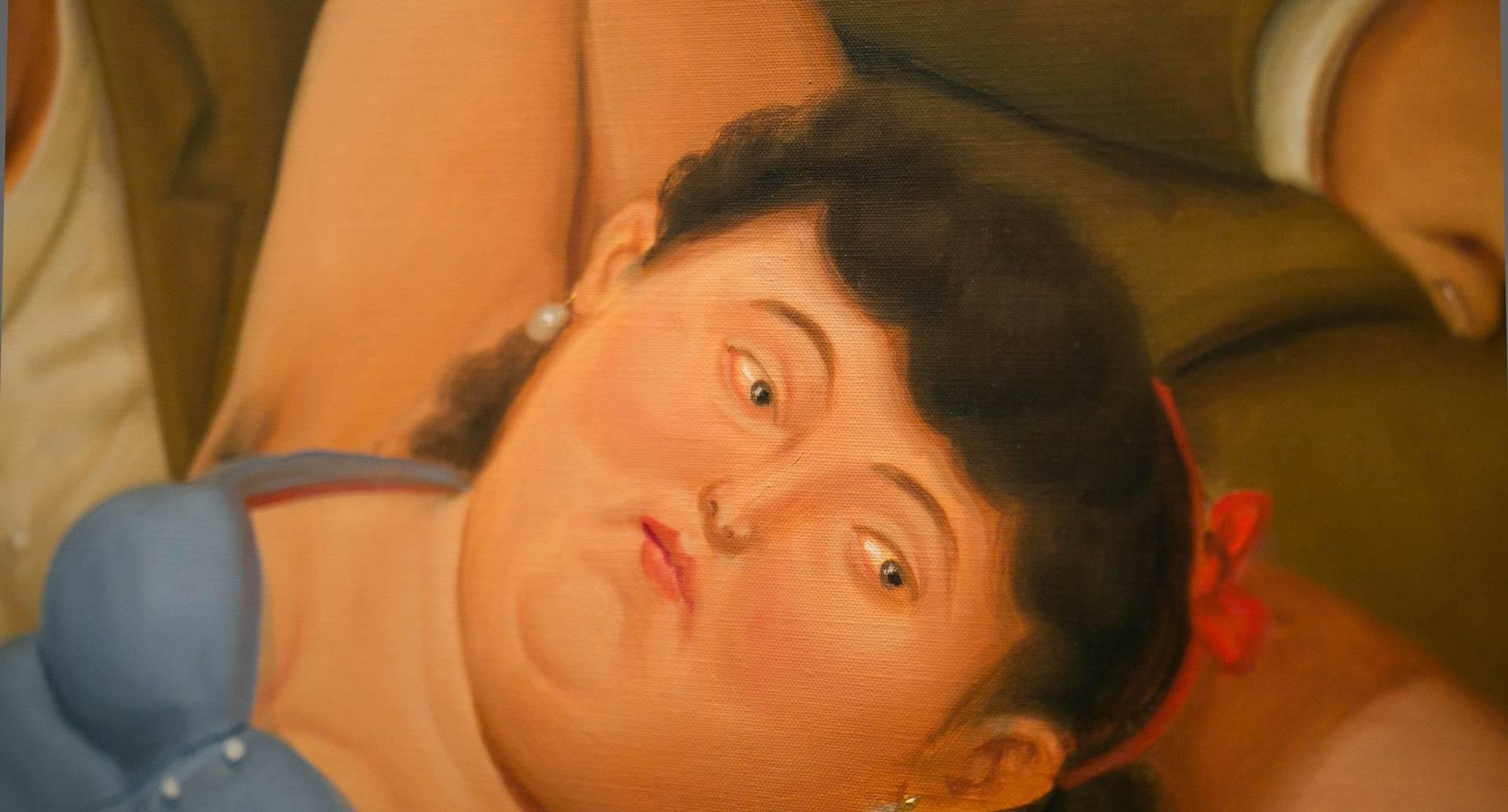 """Foto de la exposición """"Botero. 60 años de pintura"""". Crédito: Lukasz Michalak"""