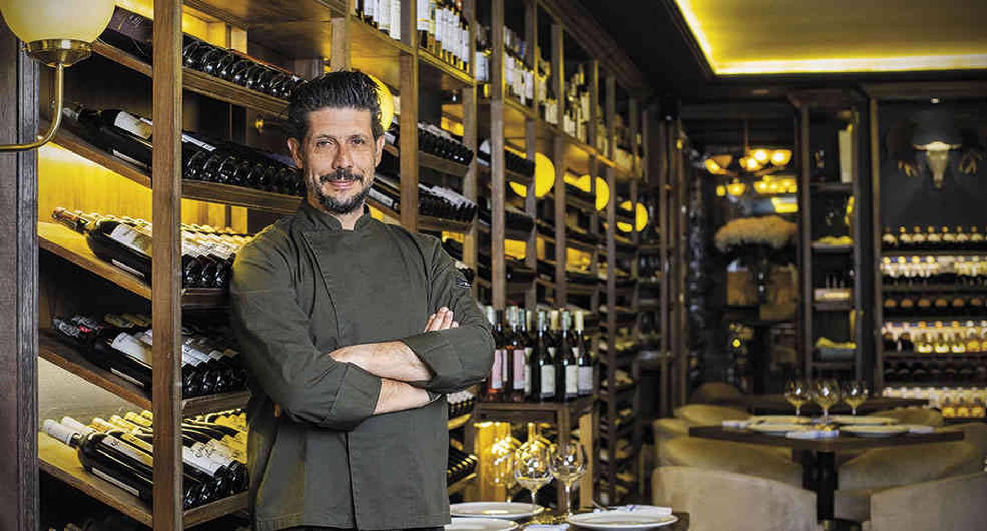 """""""He sido pionero en desarrollar una nueva zona gourmet en Bogotá, tanto que hoy mucha gente le tiene puesto el ojo para montar negocios similares aqui"""", afirma Tarditi."""