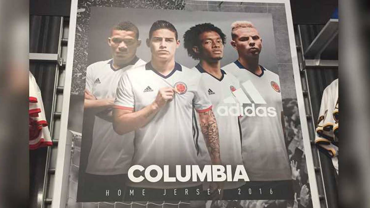 Insignia Proscrito Es  El garrafal error de adidas en la publicidad de la selección Colombia