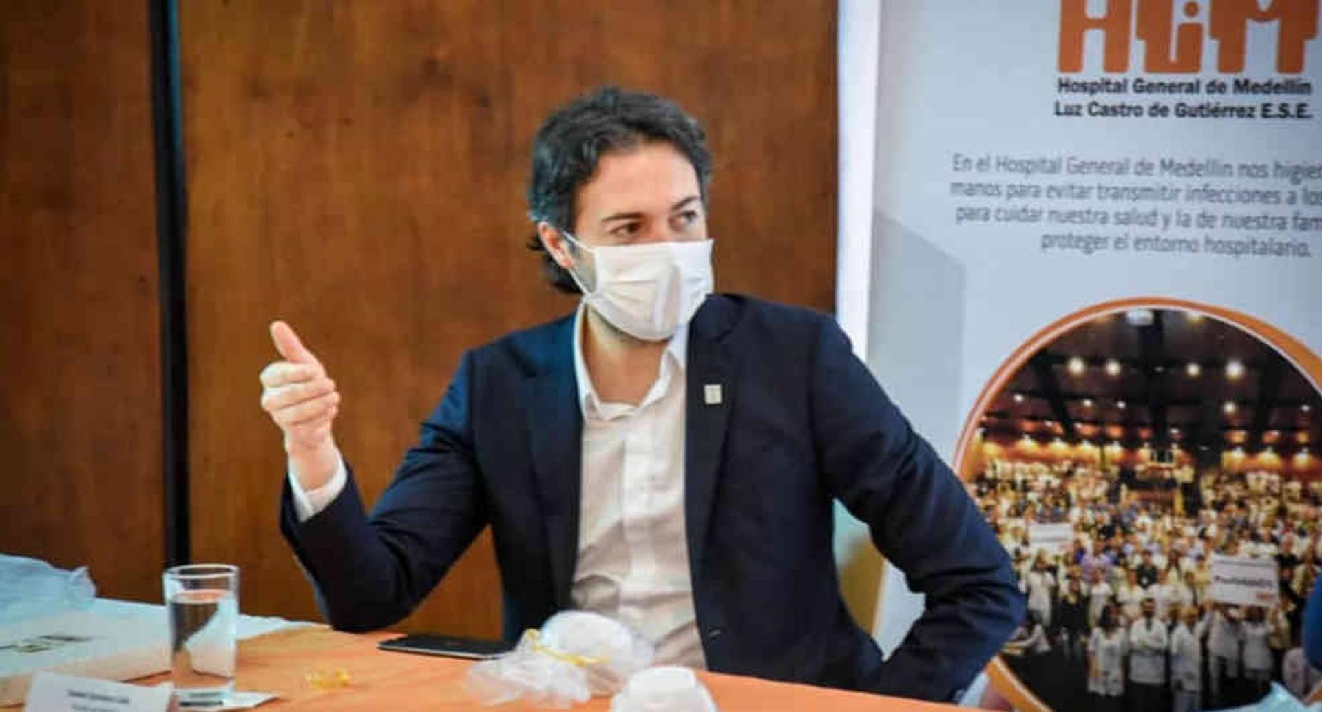 Daniel Quintero, Alcalde de Medellín, con 25% de desaprobación | Noticias hoy