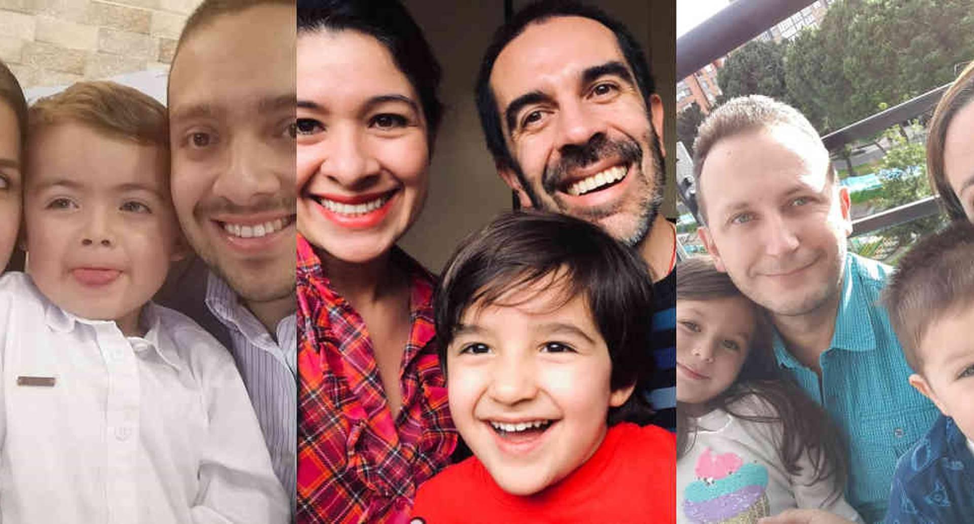 Galia Lena, Caroline Méndez y Alejandra Correal cuentan las experiencias con sus pequeños durante la cuarentena.