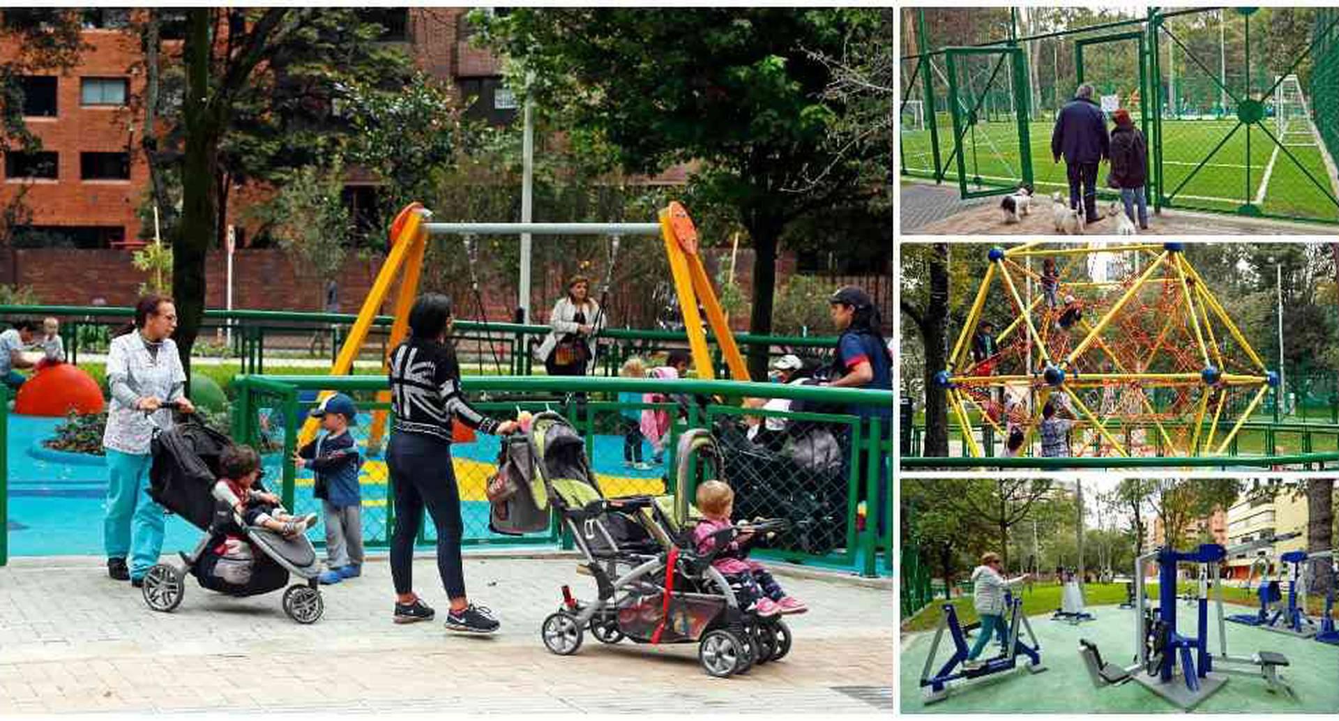 Así quedó el parque El Japón después de tantas polémicas.