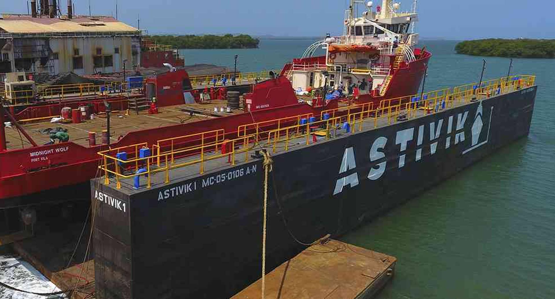Industrias Astivik nació en 1972 a un costado de la bahía de Cartagena. Es un astillero avalado por la Dimar.