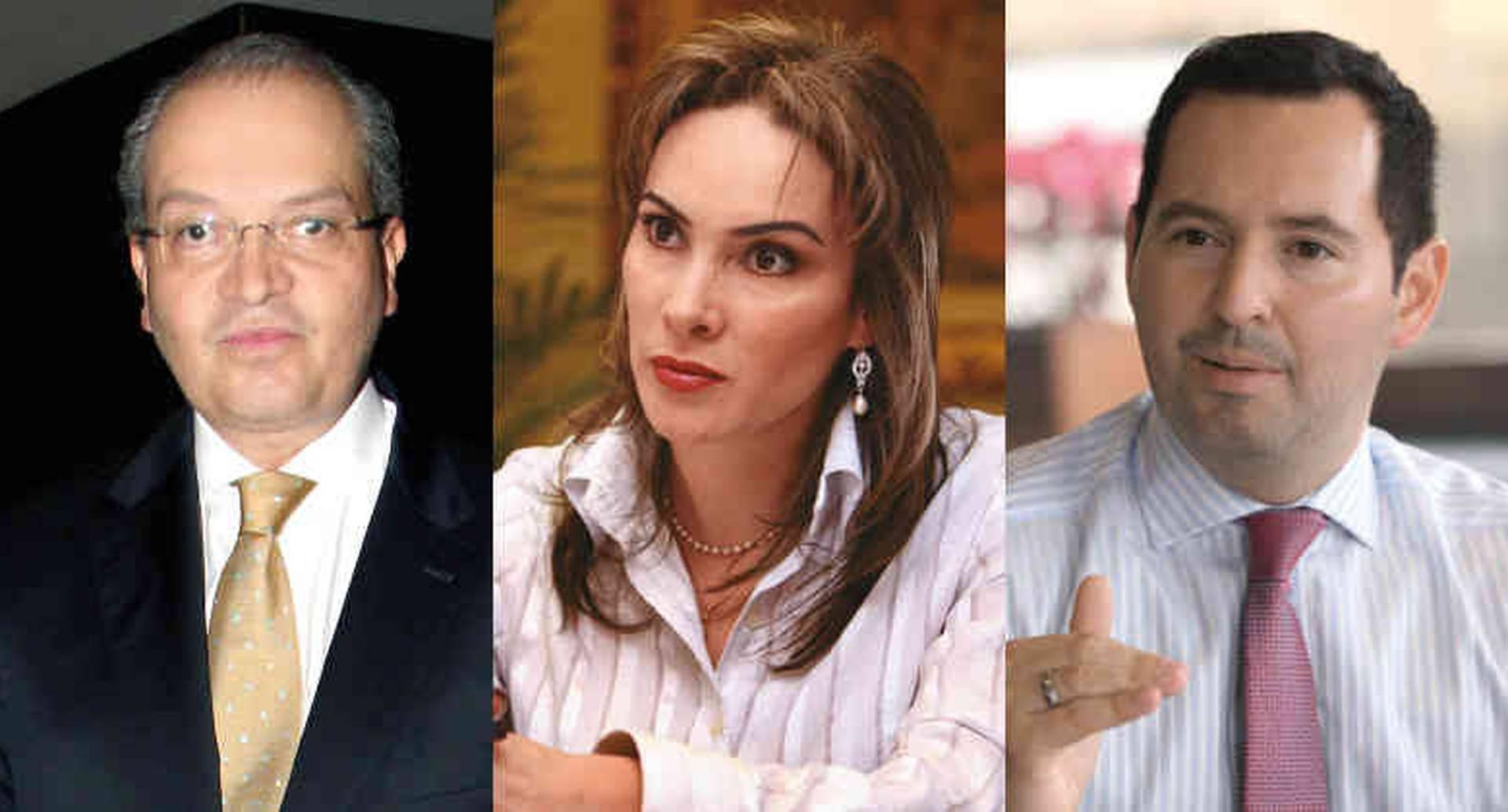 Fernando Carrillo, María Mercedes López y Jorge Fernando Perdomo, candidatos a la Procuraduría.