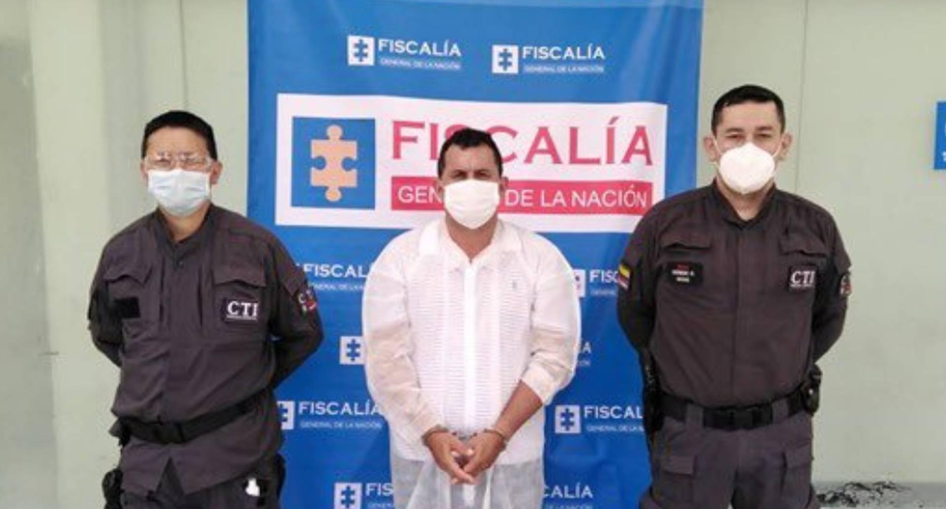 Fernando Trujillo Gómez, alias El Padrino o El Gemelo, presunto responsable de vender carne de caballo y de burro a operadores del Plan de Alimentación Escolar. Foto: Fiscalía General de la Nación