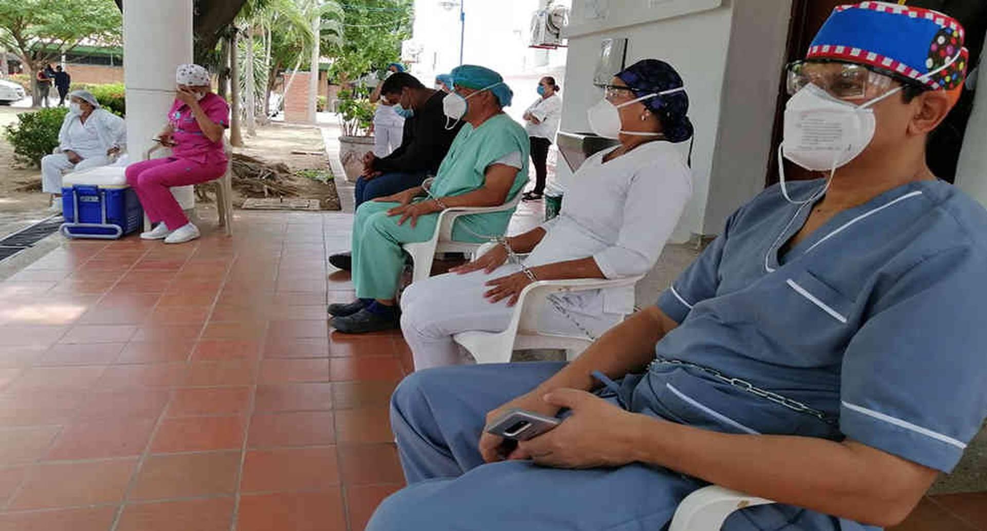 La Superintendencia de Salud anunció una auditoría en el Rosario Pumarejo, para conocer el estado de las deudas del departamento con ese hospital.