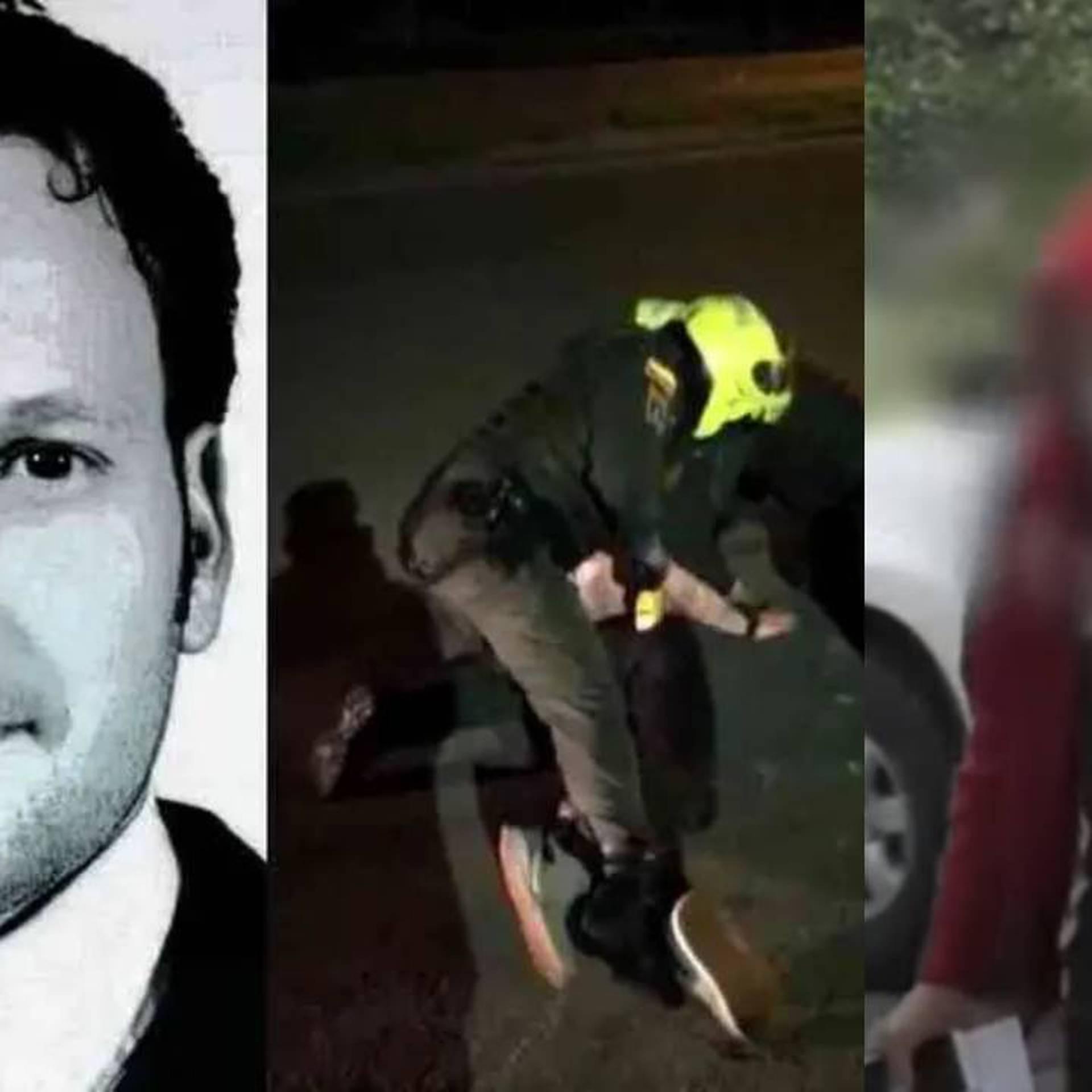 El policía Harby Damián Rodríguez fue capturado en la tarde del jueves por la Fiscalía General.