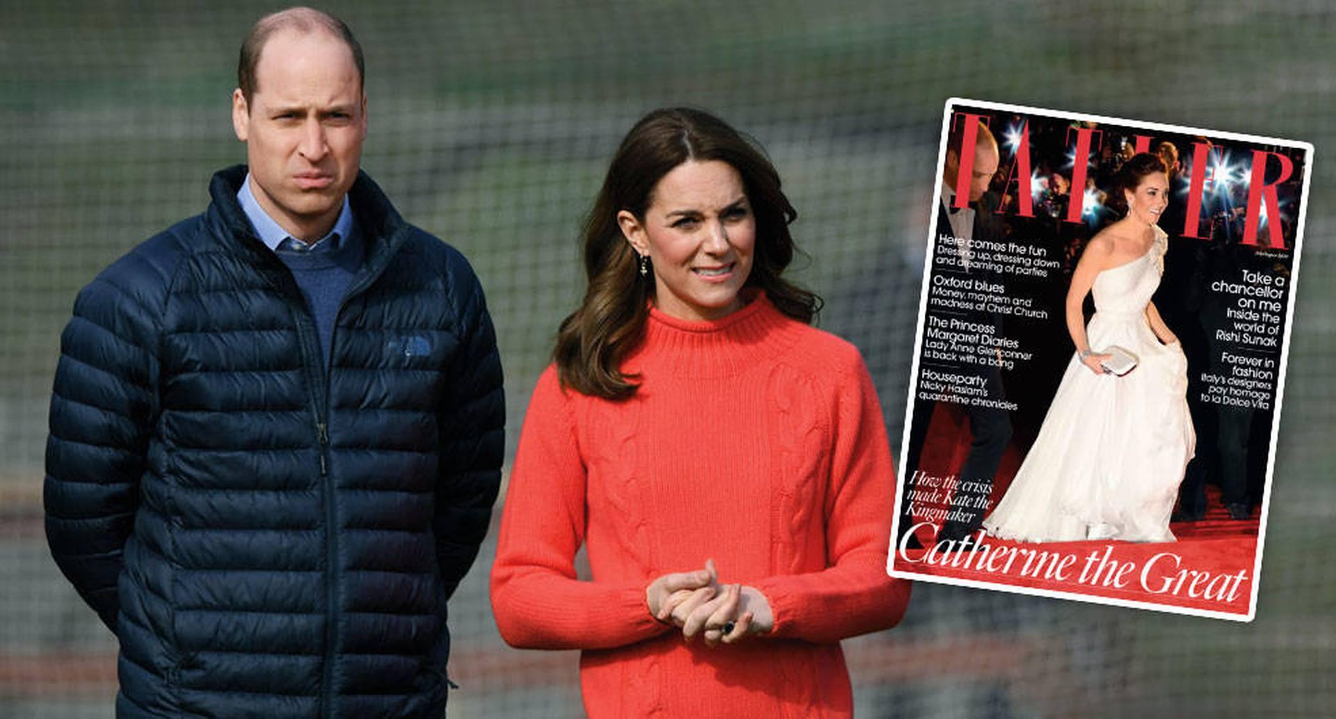 El príncipe William y Kate Middleton pidieron una rectificación a la revista Tatler y quieren que bajen el artículo de internet.