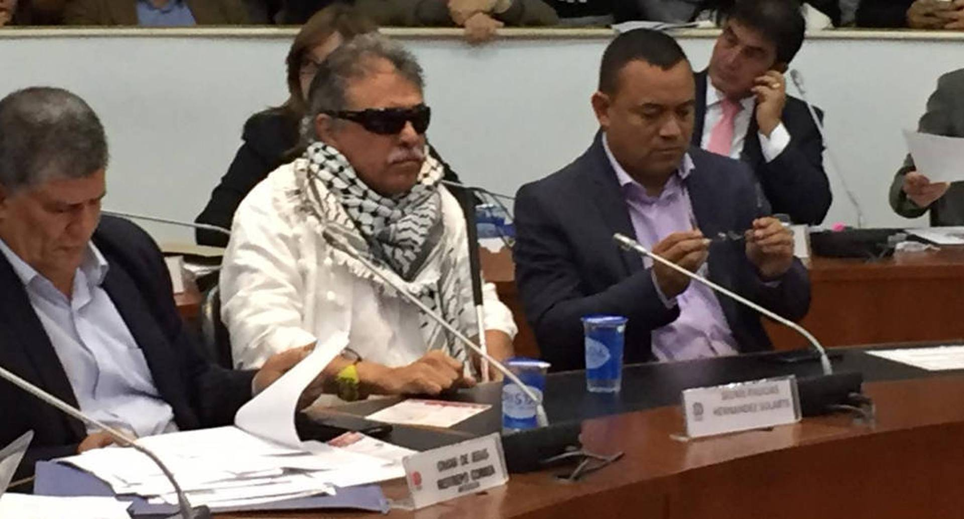 Jesús Santrich en la Comisión Séptima