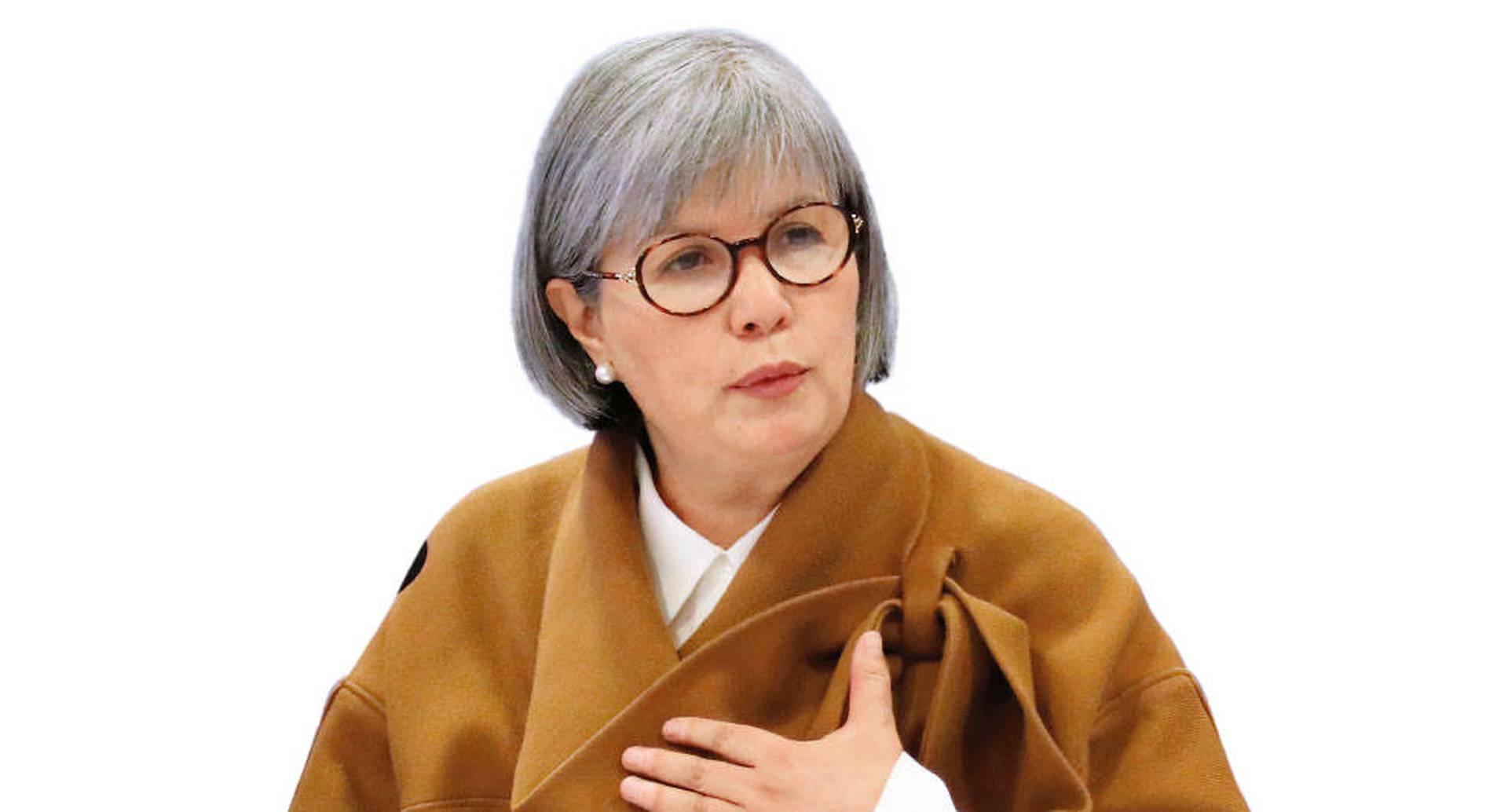 Patricia Linares, presidenta de la JEP