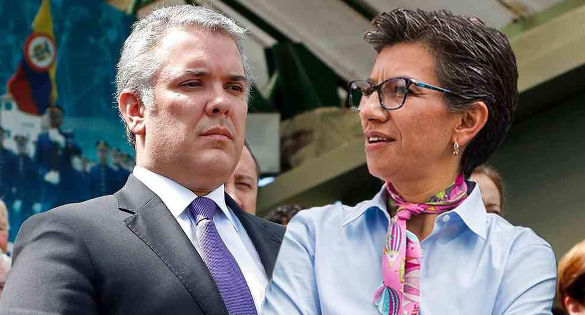 Claudia López agradeció a Duque disposición para evaluar cuarentena total