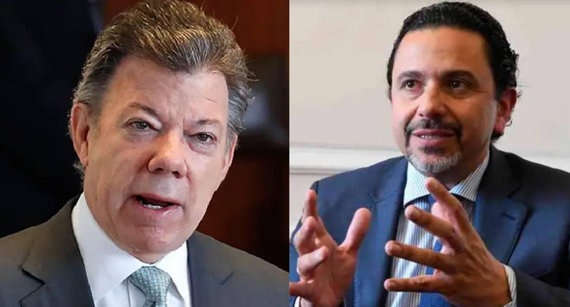 Santos y Miguel Ceballos