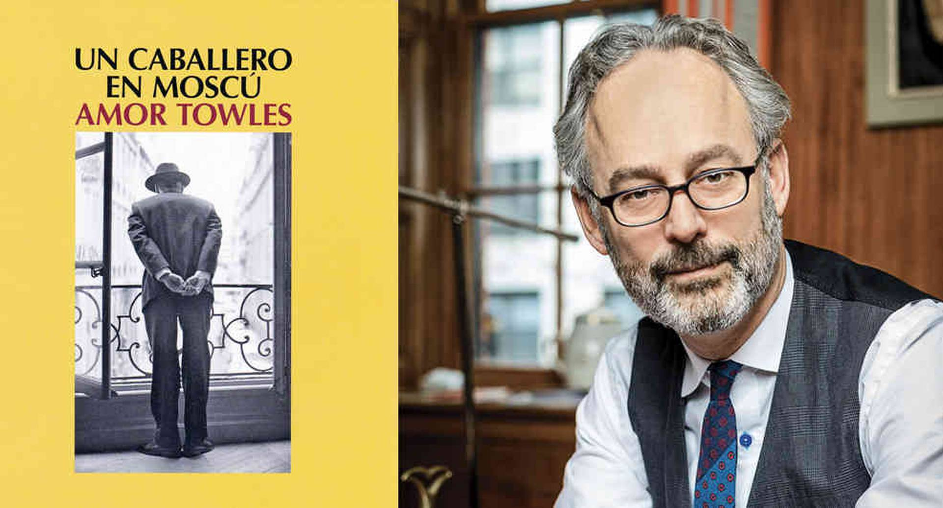 Amor Towles, escritor norteamericano. Su primera novela reconocida fue 'Normas de cortesía'. Foto: David Jacobs. Cortesía Penguin Books Australia.