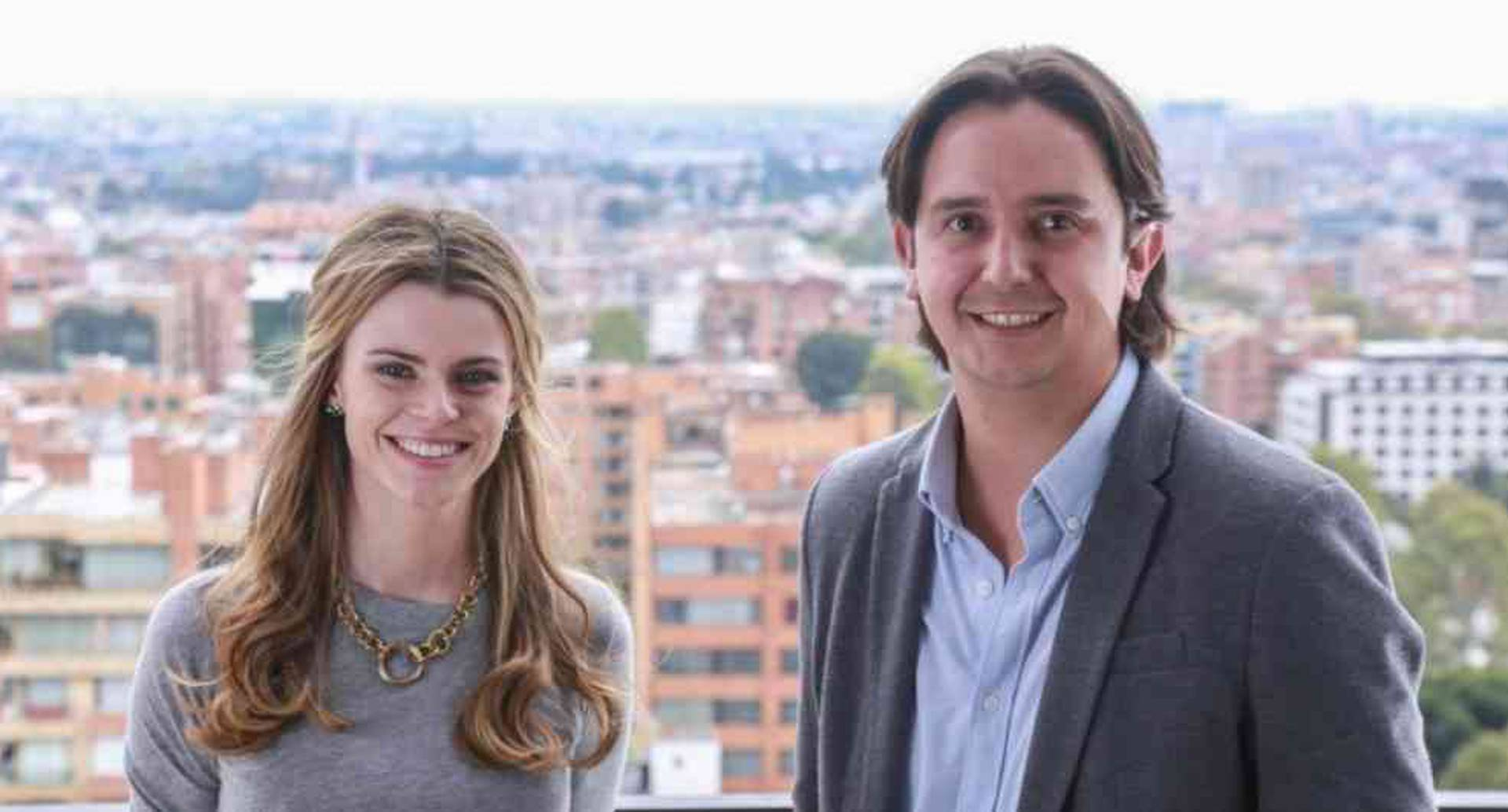 Sebastián Noguera y Brynne McNulty Rojas, cofundadores de Habi.co
