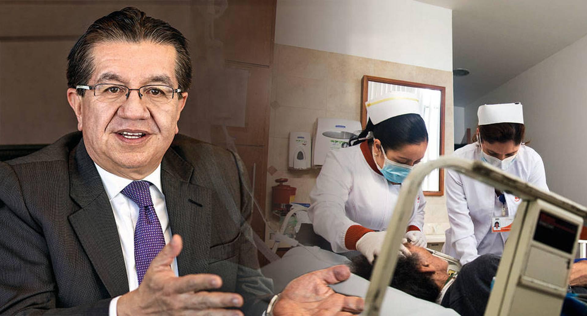 El nuevo ministro de Salud, Fernando Ruiz, es optimista frente a uno de los mayores problemas del sector: el pago de las deudas atrasadas.