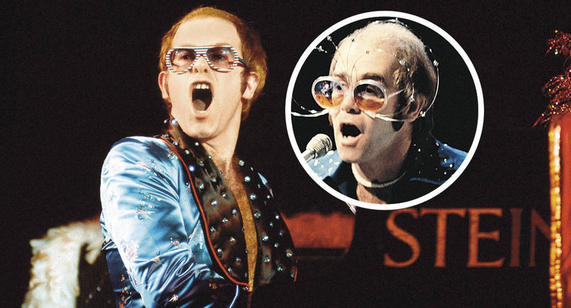 El propio Elton John, de 72 años, ha dicho que escogió a Taron Egerton para interpretarlo, ante las críticas porque no es gay.