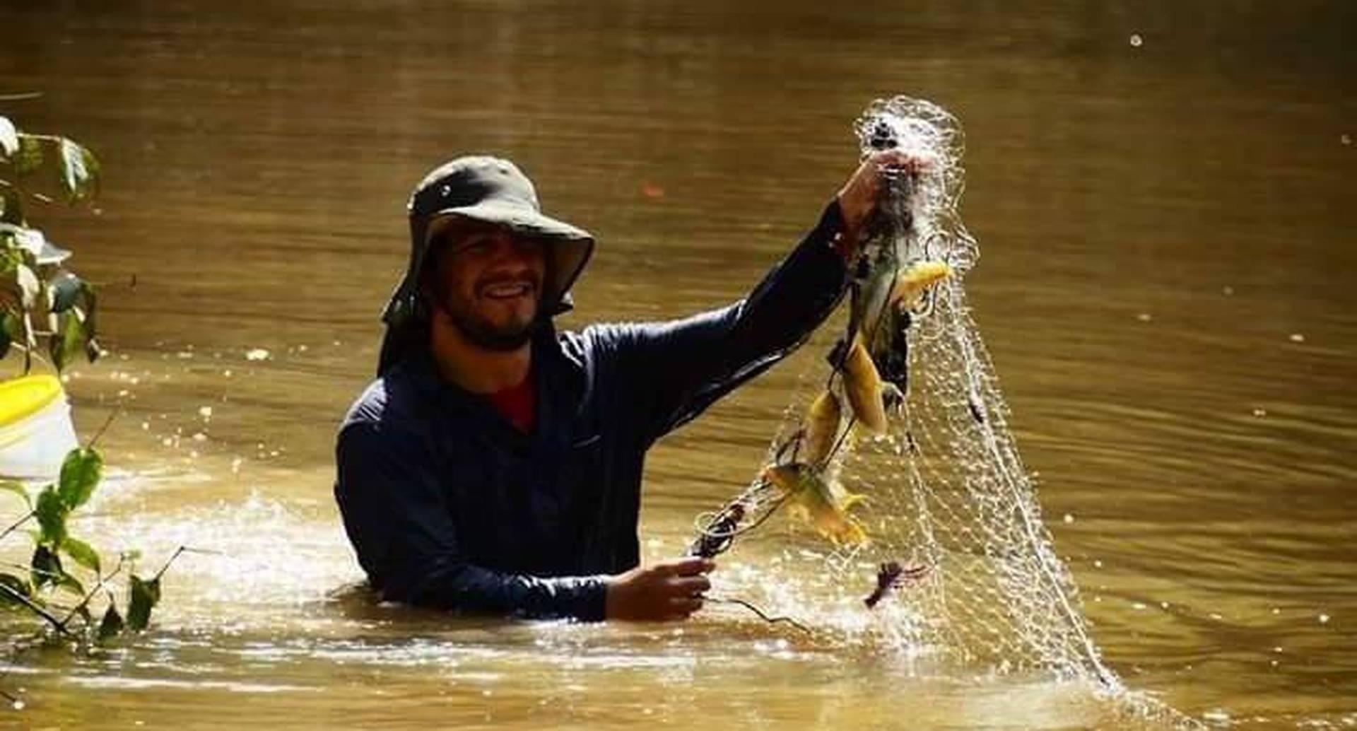 'Nano' quería completar la lista de peces de agua dulce que hizo con el proyecto Amazon Fish.