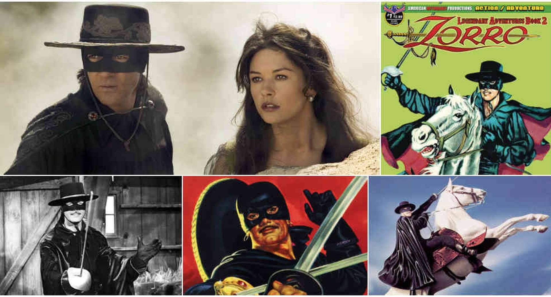 En estos 100 años, El Zorro ha sido adaptado al cómic, a la televisión y al cine varias veces.