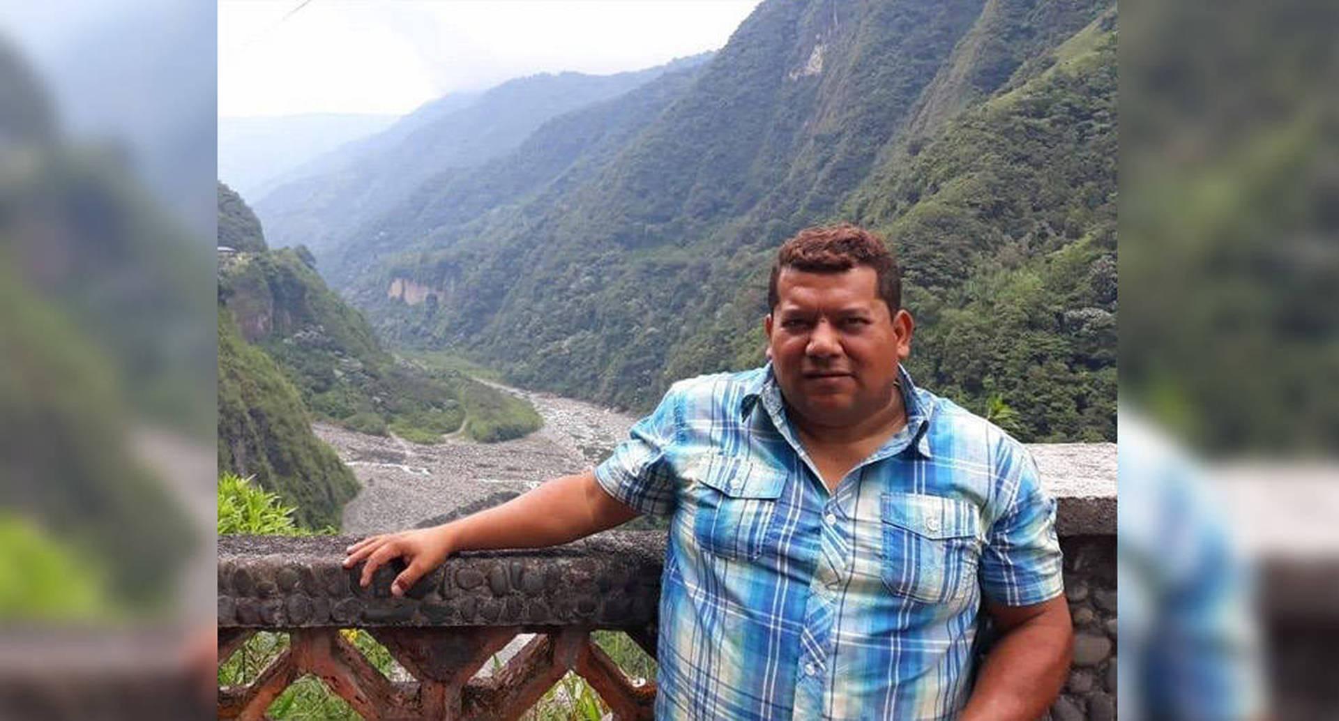 El profesor universitario Lerber Dimas Vásquez es investigador del fenómeno de la violencia y grupos armados ilegales en la Sierra Nevada de Santa Marta.